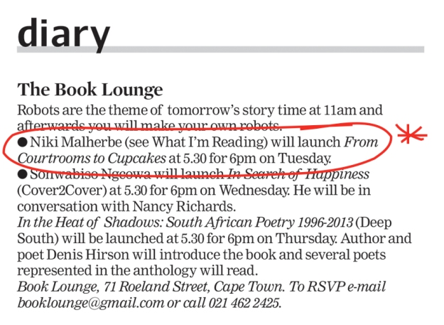 cape times review diary*
