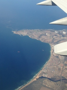 Over the Southern Cape