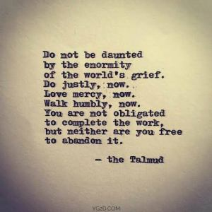 daunted by worlds grief